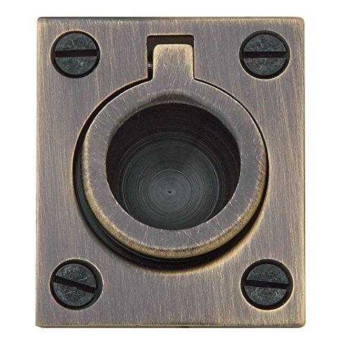 Baldwin 0392050 Flush Ring Pull, Antique ()