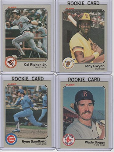 1983 Fleer Baseball Complete Set 1-660. Wade Boggs, Ryne Sandberg, Tony Gwynn Rookie Cards & Many Hall of Famers 1983 Tony Gwynn Rookie Card