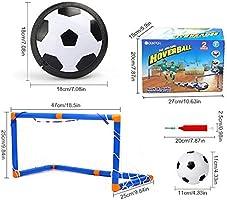 FOONEE - Juego de 4 Pelotas de fútbol para Interiores con Luces ...