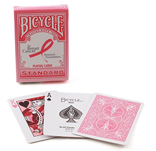 Cancer Foundation (Bicycle Breast Cancer Research Foundation Playing Cards)