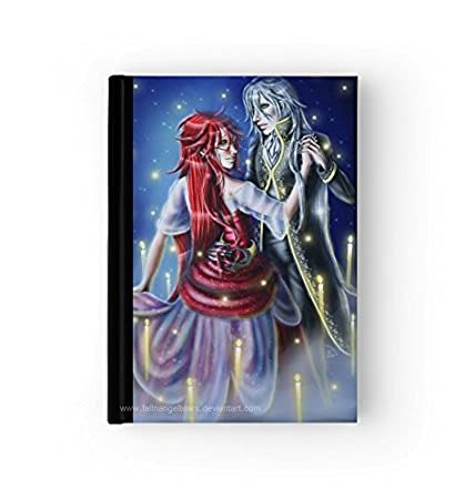 Black Butler Hard Cover Journal Grell Sutcliff Undertaker Book Diary You Choose