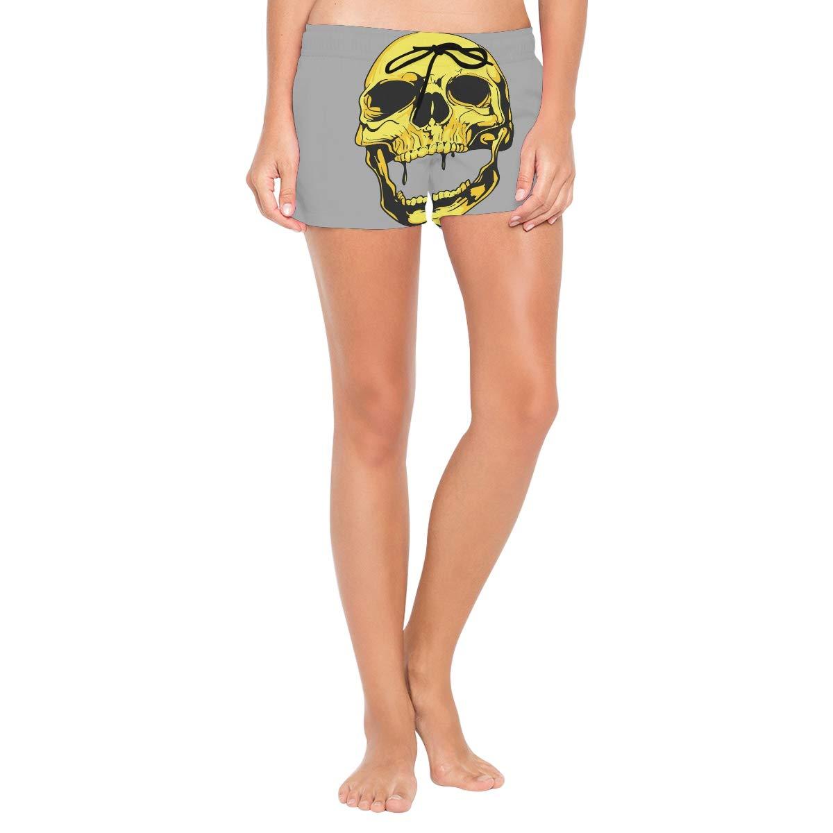 DEZIRO Golden Skeleton Surf Womens Breeze Boardshort Swim Shorts