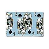 Curitis Pillow Cover 20''X30'' Pillowcases Gambling City Poker Print 100% Cotton Standard Case