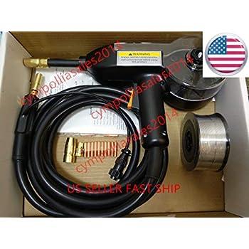 US SELLER 10/' MIG Spool gun Hobart Handler 190 and Handler 210 MVP Aluminum weld