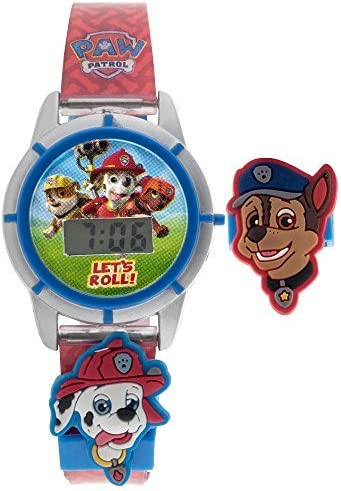 Paw Patrol LCD Digital Watch with Interchangeable Sliders [並行輸入品]