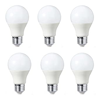 GEL 6X E27 8 W Bombilla LED,Bombillas LED,8SMD,bombilla plástica,
