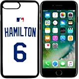 iPhone 7 New Case Royals KC. Home Jersey Baseball Fashion Grip Anti-Slip Protective Shock Resistant Durable PC TPU by Mr Case (Hamilton)