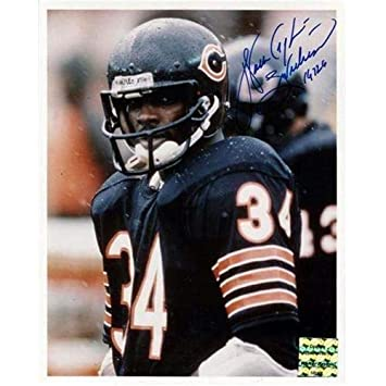 155c6449962 Image Unavailable. Image not available for. Color: Walter Payton  Autographed Signed Auto Chicago Bears ...