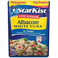 StarKist Low Sodium White Albacore Tuna in Water, 2.6 Ounce