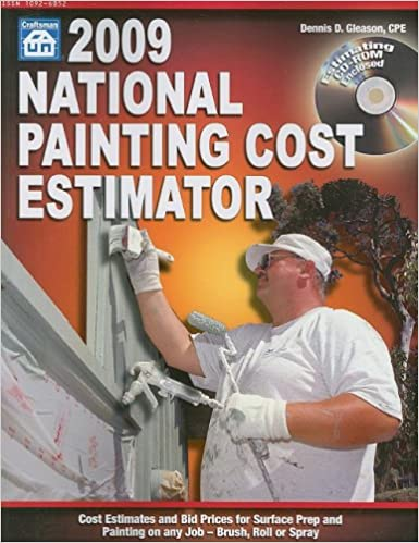 2009 National Painting Cost Estimator