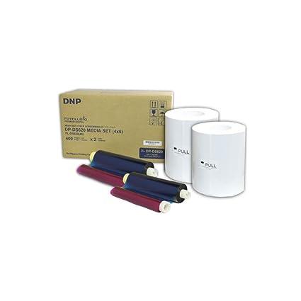 DNP 212624 - Kit para Impresora (10 x 15 cm, 2 x 400 Hojas ...