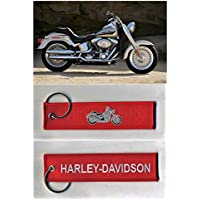 Remove Before Flight - Harley-Davidson - Chaveiro Bordado Pronta Entrega