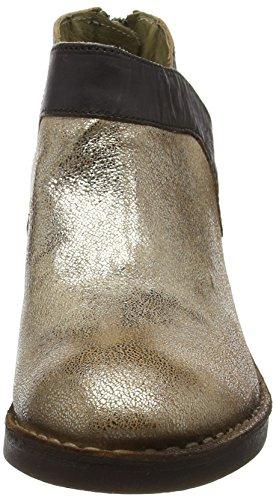 FLYA4|#Fly London Dias892fly, Zapatos de Tacón para Mujer Plateado (Luna/Ground 014)