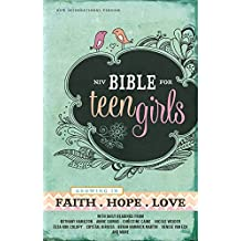 NIV, Bible for Teen Girls, Hardcover: Growing in Faith, Hope, and Love