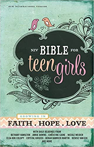 girl book Teen devotional