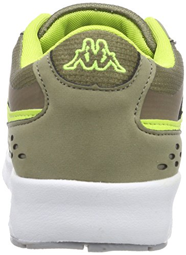 Kappa Women's Milla Low-Top Sneakers Green (3433 Khaki/Lime) CrcFU