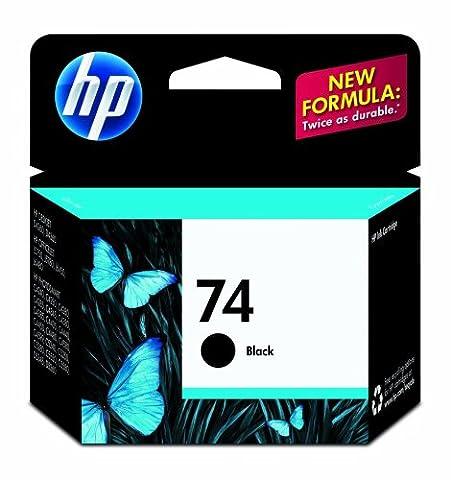 HP 74 Ink Cartridge, Black (74xl Hp Ink)
