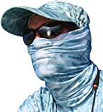 Aqua Design Fishing Hunting Masks Neck Gaiters for Men and Youth: UPF 50+ Sun Mask Protection: Camo Half Face Cover…