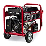 Gentron GG10020C 10000 Watt Gas Portable Generator Electric Push Start Home Emergency Power Backup RV Standby, Hurricane Storm Damage Restoration, CARB Compliant