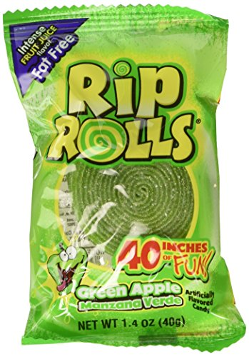 Sour Rips Roll Green Apple Flavor (24 count) ()