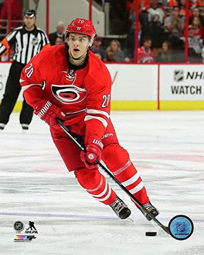 Image Unavailable. Image not available for. Color  Sebastian Aho Carolina  Hurricanes ... 26865f340