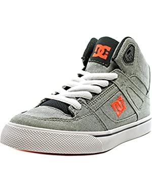 Shoes Spartan High Tx Se Youth Round Toe Canvas Gray Sneakers