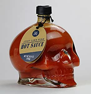 Amazon Com Deadly Skull Hot Sauce 24 Oz Grocery