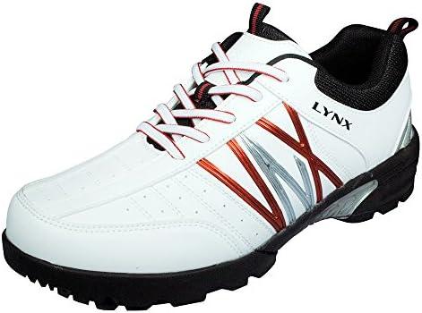 ゴルフ スパイクレス シューズ ホワイト LXSH-7569