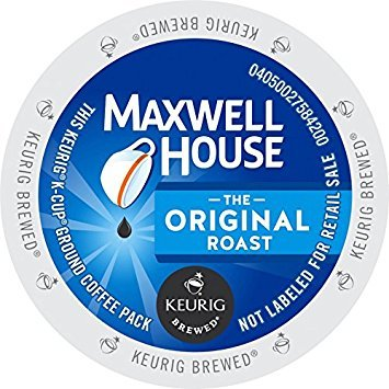 (Maxwell House Original Roast Coffee K-Cup Pods, 48 Count (Ships in Manufacturer's Retail Packaging))