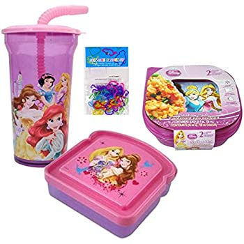 Amazon Com Disney Princess Lunch Box Set Disney Princess