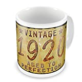 Coffee Mug Vintage Year 1920, Born/Made - Neonblond