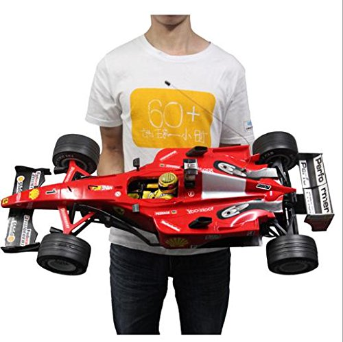 1:6 RC F1 Formula car Model Remote Radio Control f1 Sport Racing car high Speed Large Size:77x34x19.5cm ()