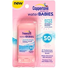 Coppertone Spf#50 Waterbabies Pure And Simple Stick 0.49 Ounce (14ml)