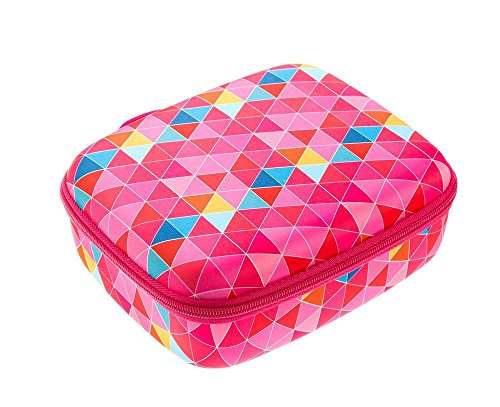 ZIPIT Colorz Lunch Box, Pink Triangles Photo #5