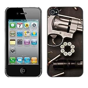 - Gun Revolver Clean Pistol War Bullets - - Monedero pared Design Premium cuero del tir???¡¯???€????€???????????