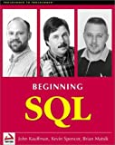 img - for Beginning SQL Programming with CDROM (Programmer to Programmer) book / textbook / text book