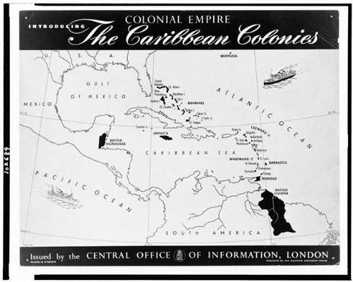 Infinite Photographs Photo: Colonial Empire Introducing, Caribbean Colonies, West Indies, Grat Britain, 1948 Size: 8x10