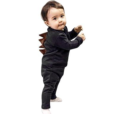 YanHoo Ropara niños Recién Nacido bebé niño niña Camiseta de ...