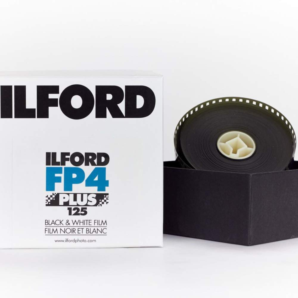 Ilford FP4 Plus Black and White Film, ISO 125, 35mm, 100'