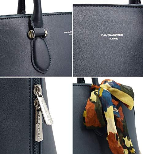 Shopper Borsetta Donna Bauletto Spalla Bugatti Tote Blu David Mano Moda Pu Grande A Pelle Elegante Borse Tracolla Borsa Jones Capacità wqIxgAUv