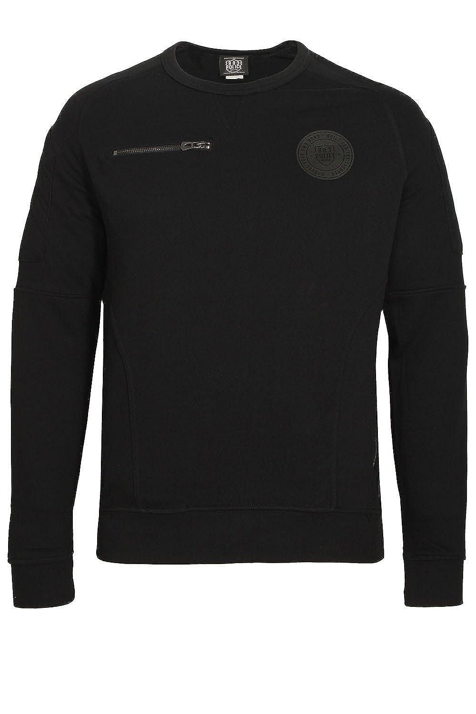 883 POLICE Ortiz Sweatshirt schwarz