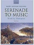Serenade to Music: Vocal score