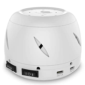 White Noise Machine, AuCuTee Sound Spa-Soothing and Relaxing Nature Sleep  Aid Therapy Sounds for