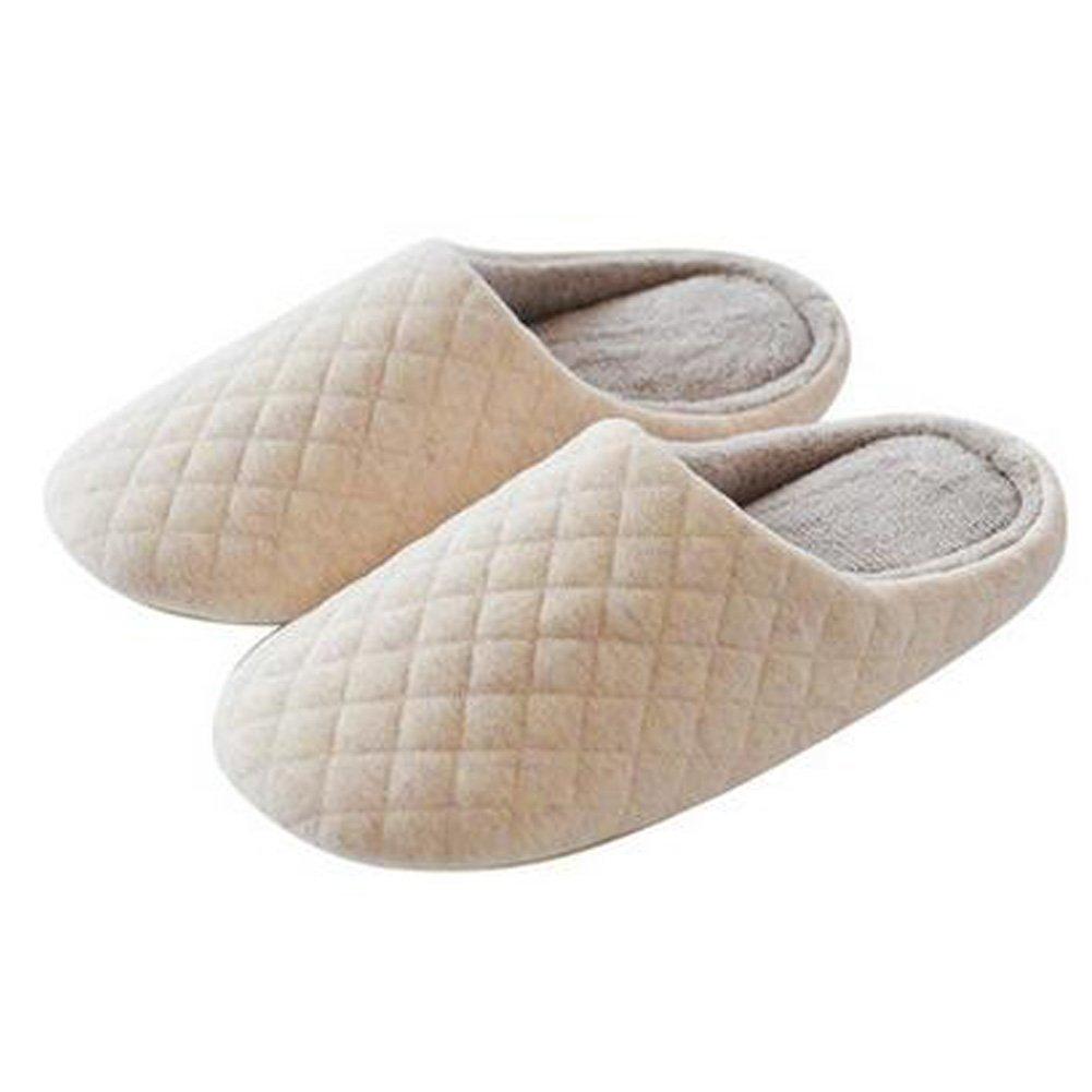 Japanische Damen Winter Warm & Gem?tlich Indoor Schuhe Haus Slipper, Beige Blancho Bedding