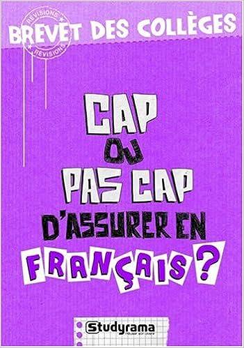 En ligne téléchargement gratuit Cap ou pas cap d'assurer en français? epub, pdf