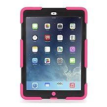 Griffin Technology Survivor Case for iPad Air, Pink/Black