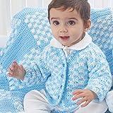 Bernat Softee Baby Yarn, 5 oz, Gauge 3 Light, White