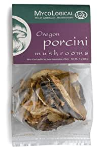Mycological Dried Oregon Porcini Mushrooms, 1-Ounce Packages (Pack of 6)