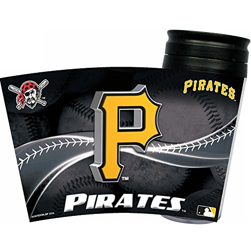 (MLB Pittsburgh Pirates Insulated Travel Tumbler)