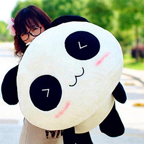 Corazón altavoz Kawaii lindo peluche Animal Panda gigante almohada suave cojín de peluche regalo, Igual a la foto, 45cm
